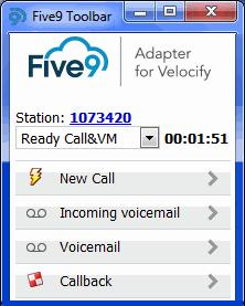 Using the Softphone Changing Your Status Ready VM: available to receive voicemail messages. NOT READY options: Cannot receive calls but can make a manual call.