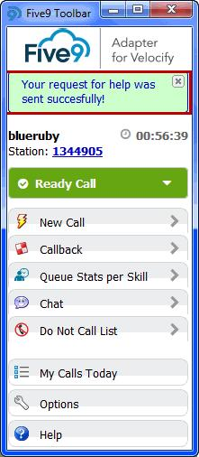 Using the Softphone Working with Chat