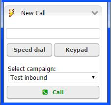 Processing Calls Dialing Calls Number entry field. Campaign menu. 3 If appropriate, select a campaign. The choices depend on the skill groups to which you are assigned.