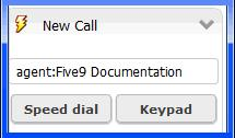Processing Calls Dialing Calls 4 In the left column, click a record; in the right column, click Select.