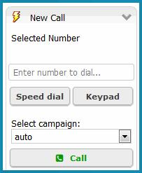 This feature applies to these types of calls, whether or not they are part of a campaign: click-to-dial, call previews, and queue and voicemail callbacks.