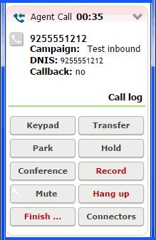 Processing Calls Recording Calls Recording Calls During a call, you can record some or all the conversation. To start or end a recording, click Record.