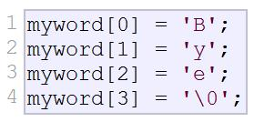 55 Character Arrays can initialize with