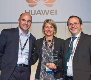 Infrastructure sharing company of the year: Atlas Tower Energy efficiency project of the year (two way tie): Infozech and ZTE Nate Foster, CEO & Randi Clendennan, CSO, Atlas Tower Atlas Tower has