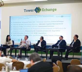 Argentina: still a land of chances and changes An updated report from the TowerXchange Meetup Americas 2017 Panellists on stage The Argentina panel held at the fourth annual TowerXchange Meetup