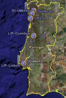 EGEE in Portugal Portugal together with Spain form the EGEE Southwest