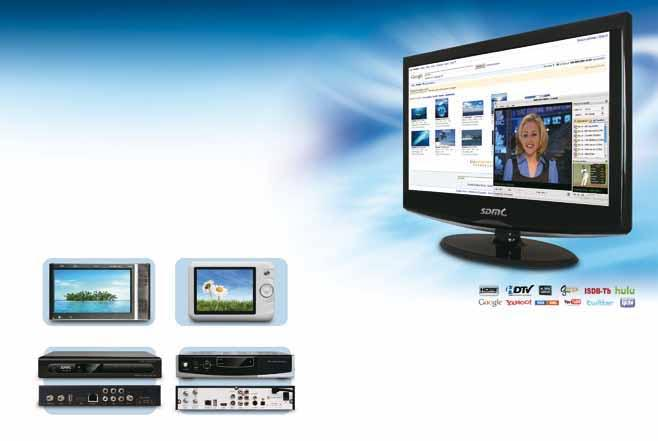 Source our latest H.264 ISDB-T Internet idtvs with Ginga solutions Looking for something completely new to introduce in your market? Then consider our Internet idtv shown here.
