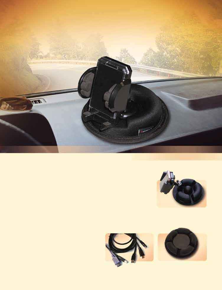 24 Years of Electronic Products Car player In-car universal holders that can withstand 80 degrees Celsius and 60N In-dash car player with 7 TFT screen 3/3.5/4.