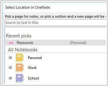 easier to associate your notes with their scheduled