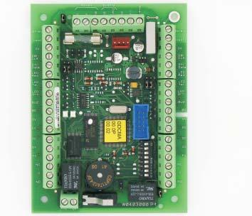 Galaxy Dimension Door Control Module Non PC based Networked Access Control Galaxy Dimension The Galaxy Dimension Door Control Module (DCM) connects to the RS485 data line along with standard RIO and