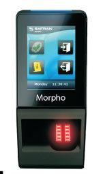 Morpho SIGMA Lite Series Terminals Access Control Cards and Readers Morpho Sigma Biometrics Features: 1:10,000 user identification in 1 second High capacity: 30,000 templates, 250,000 IDs in