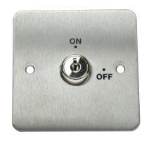Access Control Door Accessories Emergency Egress Devices Key Override Switch Features: Single Pole devices Key removable in both positions Flush mount for security Surface mount option available Can