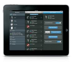 The easy-touse mobile app gives you anytime, anywhere realtime management of over 20 security tasks.