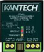 RS-232 to RS-485 Converter Kantech Access Control and Security Management System Communication Devices EntraPass Software communicates with the KT range of controllers via RS485.