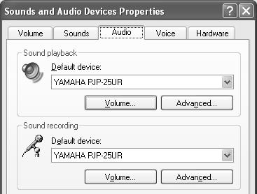 "select [Start] - [Control Panel]. 2 Click ""Sounds, Speech, and Audio Devices"". 3 Click ""Sounds and Audio Devices""."