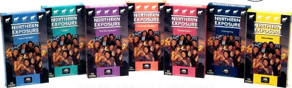 Off the Beaten Path And Onto Video-- NORTHERN EXPOSURE Comes Home For The Holidays! 49 sugg. retail price each videocassette In Cicely, Alaska, 'tis the season to go just a little off the deep end!