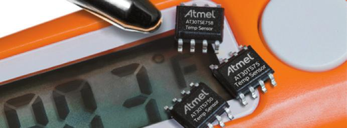 TEMPERATURE AT30T Sxxx Series - World s Most Versatile Digital Temperature Sensing Solutions Product Overview Atmel offers solutions with selectable temperature resolutions and conversion rates,