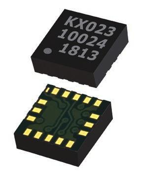 ACCELEROMETER KX022 & KX023 Accelerometer Tiny Accelerometers with FIFO/FILO Buffer and Flexset Performance Optimizer Product Overview The KX022 and KX023 accelerometers deliver unparalleled
