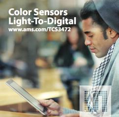LIGHT & OPTICAL Color Sensor Light-To-Digital Converter TCS3472 is a Color Light-to-Digital Converter with Infra-Red filter LIGHT & OPTICAL 54 Product Overview The TCS3472 device family provides