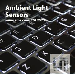 LIGHT & OPTICAL Ambient Light Sensor TSL2572 is a Light-to-Digital converter Product Overview The TSL2572 family of devices provides Ambient Light Sensing (ALS) that approximates human eye response
