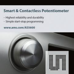 POSITION / SPEED Smart & Contactless Potentiometer AS5600 is a 12-bit On-Axis Magnetic Rotary Position Sensor with analog or PWM output POSITION / SPEED Product Overview The AS5600 is an easy to