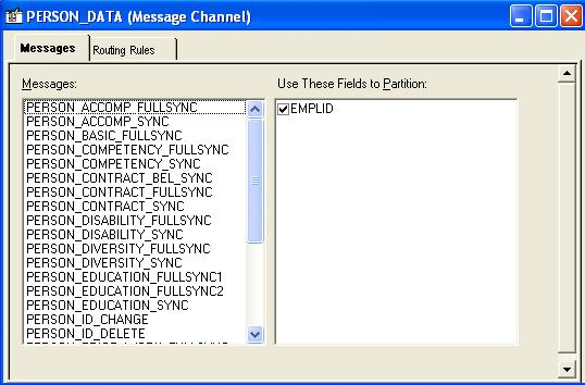 Configuring and activating the Message Channel Open PeopleTools -> Application Designer.