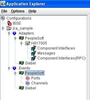 Configuration of the Channel Channel establishes the connection between PeopleSoft and BPEL at