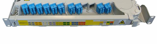 Prysmian Part Numbers: See data sheet RM0022 Modular Splitter Shelf The Modular Splitter Shelf is a 3U high shelf that is used to mount preconnectorised Splitter Modules into the RS3000 rack.