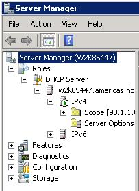 Right click on IPv4 and select Define Vendor Classes.