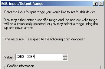 click the <Change Setting > button. The [Edit Input / Output Range] dialog will appear.