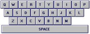 Comparing a Scanning Ambiguous Keyboard to the On-screen QWERTY Keyboard Chris T. Waddington University of Central Lancashire Preston UK PR1 HE chris.waddington13@gmail.com Janet C.