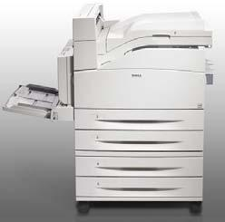 Similar to copy machine Uses powdered ink called toner