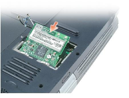 Memory Module, Mini PCI Card, and Devices: Dell Inspiron