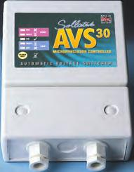 COOLERS AVS100 (Automatic Voltage Switcher) Over and under voltage protection Max power Wait time Ideal for Tip Socket availability Dims 100 amps User adjustable from 10