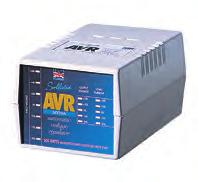 Voltright Stabilisers/Regulators Professional Range - AVR The Sollatek AVR is a state of the art solid state stabiliser.