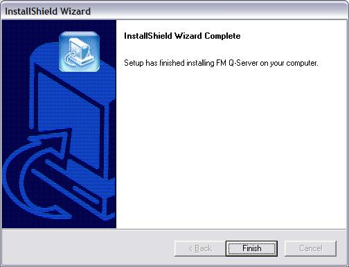 Once cmpleted yu will be tld the install is cmplete. Click Finish t prceed: The setup wizard will nw run autmatically.