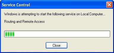 Step 8 Click the Routing and Remote Access Properties (Local Computer) window so it
