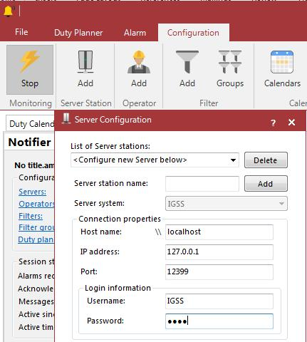 Configuration of Notifier Purpose Task 1: Start Notifier Step To learn how to configure Notifier.