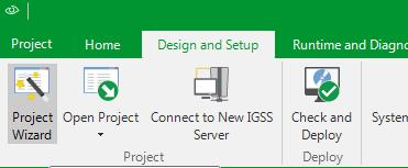 Exercise 2: Creating a new IGSS Project Exercise 2: Creating a new IGSS Project Purpose Duration Task 1: Create a new project & set up an IGSS server Step Learn how to create a new project from