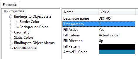 Edit Miscellaneous properties 1) In the left pane on the Attributes of Polygon tab, click Miscellaneous. a.