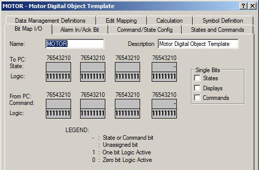 Exercise 9: Use Standard Descriptors and Drawing toolbar Task 3: Create a digital template for a 2- state motor Step You will create a motor object called M1 and represent the process component on