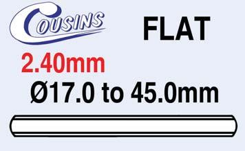 WATCH GLASSES FS200CMH335 Ø33.5mm (2.00mm) Flat EACH 22.60 FS200CMH340 Ø34.0mm (2.00mm) Flat EACH 23.95 FS200CMH345 Ø34.5mm (2.00mm) Flat EACH 29.95 FS200CMH350 Ø35.0mm (2.00mm) Flat EACH 29.95 FS200CMH355 Ø35.