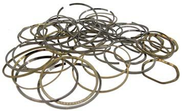 95 Watch Movement Rings - Plastic - Adaptable Movement rings help secure the watch module in the watch case to prevent the watch module moving and causing damaged through daily use or from taking a