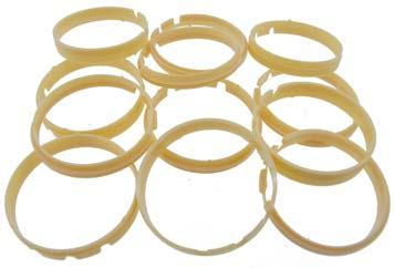 Ideal for Miyota movements Various ring heights & diameters Pack of 15 pieces