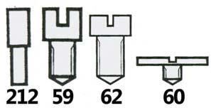 62) Clamp Screw (Diagram 75) PACK*100 13.