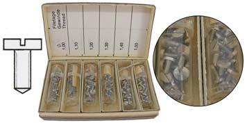 WATCH PARTS NON BRANDED Pillar Wheel Screws (Pocketwatch) Graded Includes Threads: Return Bar Screws (Diagram 72) S37283