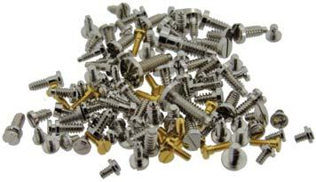 WATCH PARTS NON BRANDED S37348 Balance Rim Screws (Diagram 127) Non Polished PACK*150 20.