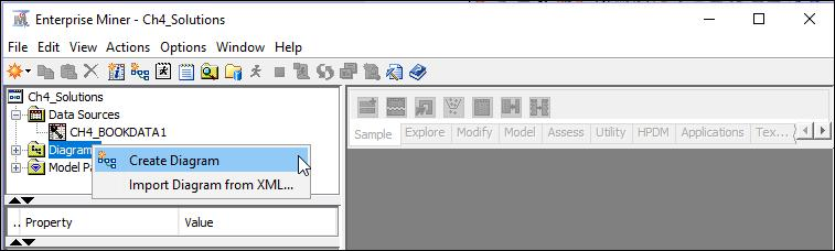 diagrams, and select Create Diagram Display 4.