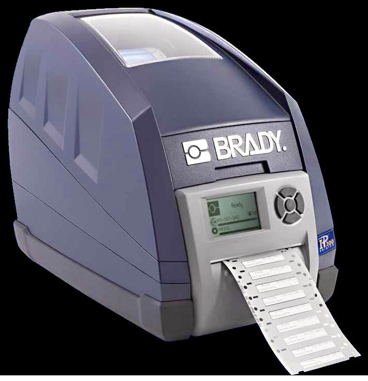The Brady IP Series Printer is part of a