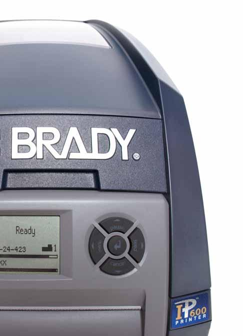 Let me introduce myself... Smart Cell Technology Printer communicates with software, materials and ribbons making printing easy. Load Brady IP enabled material and the software recognises it.